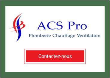 Contactez-nous Acs Pro plomberie, chaffage, ventillation